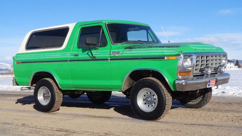 This 1979 Ford Bronco Ranger XLT is a 146,000-mile example from the Bronco's second generation.
