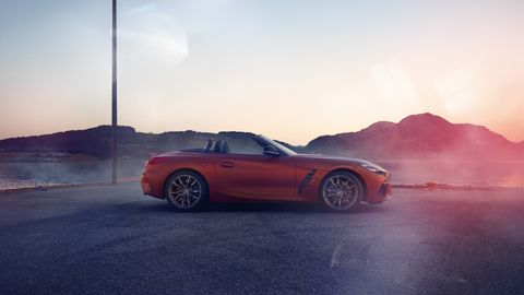 The 2019 BMW Z4 M40i leaked earlier in August 2018 ahead of its Pebble Beach debut.