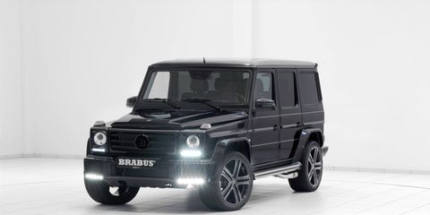 The Brabus B40 adds 78 hp and 74 lb-ft of torque to the Mercedes-Benz G500.