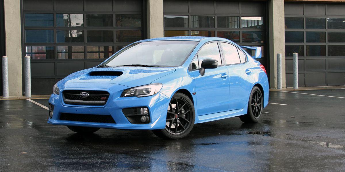 2016 Subaru Wrx Sti Series Hyperblue Review