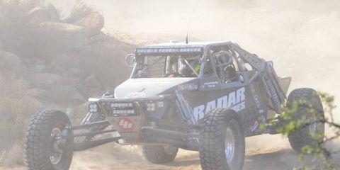 The Radar Tires-sponsored Bronson Motorsports Class 10 buggy team won the 47th Annual Tecate SCORE International Baja 1000 on Saturday.