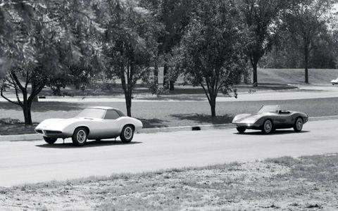 The 1964 Pontiac Banshee XP-833 concept car project was overseen by John De Lorean.