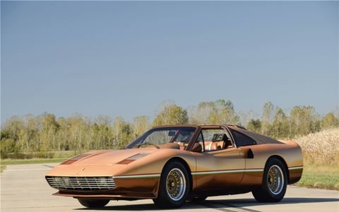 This 1978 Ferrari 308 was owned and customized by the legendary George Barris and is a perfect 1980s time capsule.