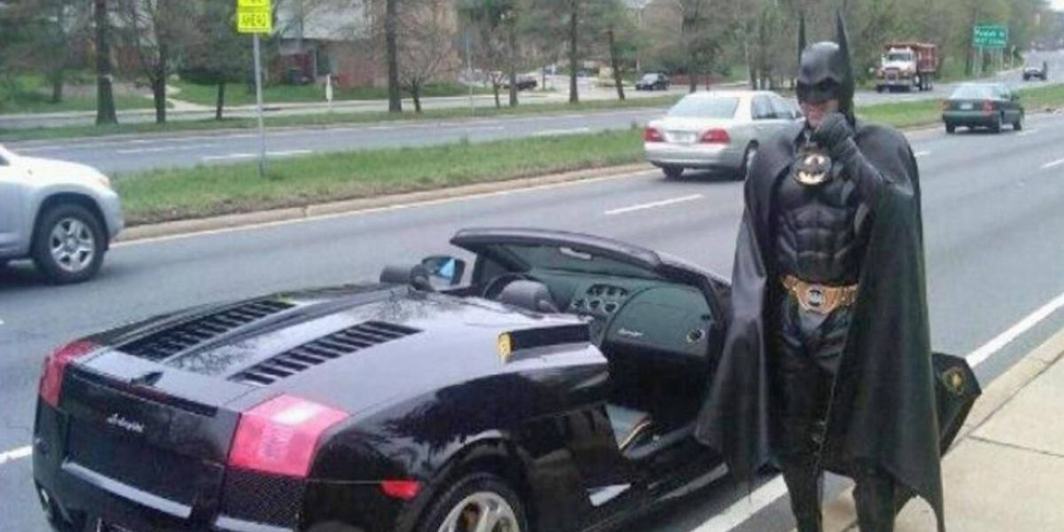 R.I.P. 'Lamborghini Batman'