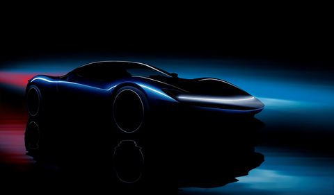 Here is an idea of what the Automobili Pininfarina Battista might look like