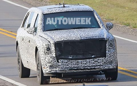 Spied testing under camouflage, President Trump's redesigned limo -- informally known as the Beast 2.0 -- appears to be wearing a look more closely aligned with Cadillac's current design language. What's under the skin is largely top secret, but it's believed to be riding on a Chevrolet Kodiak-derived platform.
