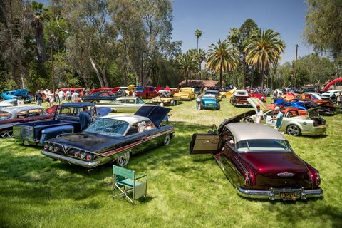 The Benedict Castle Concours in Riverside, Calif. is a mix of every kind of car enthusiasm known to man - and woman - from hot rods to big classics of the kind you'd see at Pebble Beach, all brought together for a good cause.