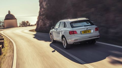 The Bentley Bentayga hybrid debuted among the latest supercars at the 2018 Geneva motor show.