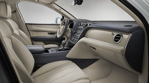 The Bentley Bentayga Hybrid might be more environmentally friendly, but that doesn't mean you'll have to suffer from a pleb-spec interior.