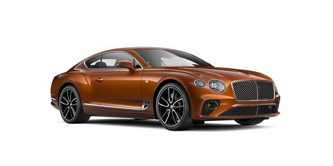 This is the third generation of the Bentley Continental GT.