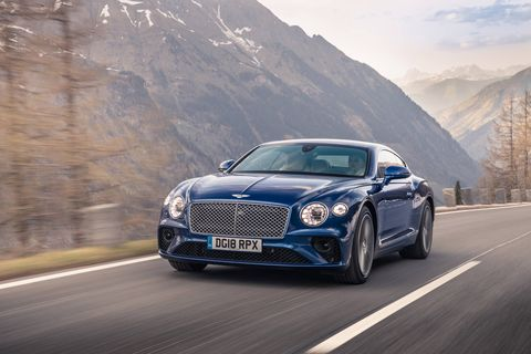 With the 2019 Continental GT, Bentley's objective was modest: Build the world's best grand tourer. The resulting car, third in a line of Continental GTs, is lighter, quicker (thanks to a 626 hp, 664 lb-ft twin-turbocharged 6.0-liter W12) and comes packing all the on-road presence you'd expect from a British ultra-luxury coupe.
