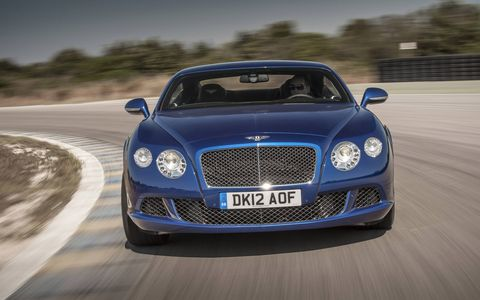 The new Continental GT Speed coupe is the fastest road-car Bentley has ever produced.