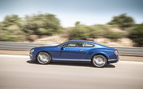 In Bentley Speed tradition, outstanding performance is matched by an enhanced chassis with upgraded springs, anti-roll bars and bushes, and steering systems.