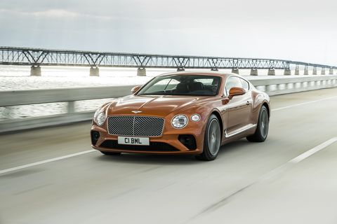 The 2019 Bentley Continental GT, now sharing a platform with the Porsche Panamera, looks gorgeous whether a W12 or a V8 lies under hood