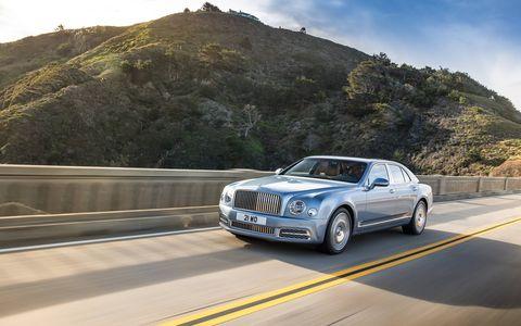 The new Bentley Mulsanne will premiere at the Geneva auto show in March.