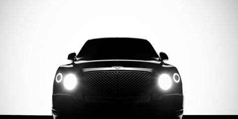 The first Bentley SUV, named Bentayga, will go on sale in late 2015 as a 2016 model.