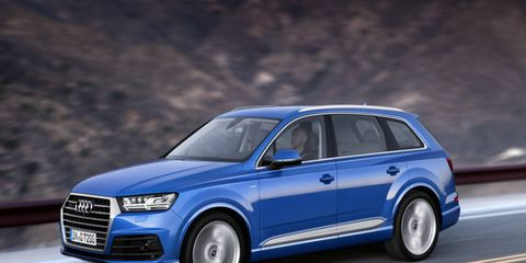 Audi Q7 will come with one diesel and one gasoline engine for the U.S.