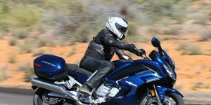 The 2016 Yamaha FJR1300A and FJR1300ES is a solid competitor against the Kawasaki Concours 14 and BMW R1200RT.