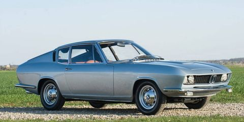 The 1967 BMW-Glas 3000 V8 Fastback was shown at a number of major European auto shows in 1967 and 1968.