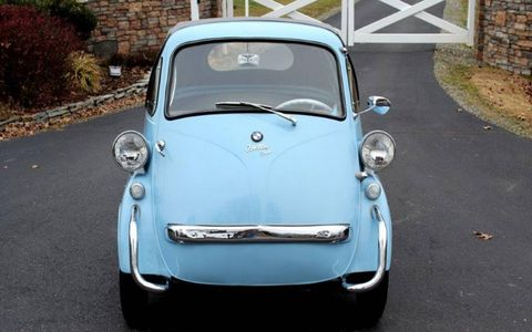 This 1957 BMW Isetta could be one of the biggest bargains at the Kissimmee auction.