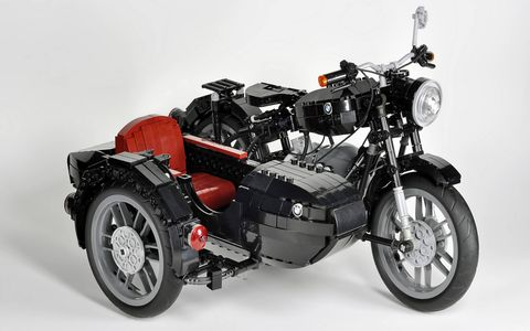 Maxime Cheng's BMW R60/2 motorcycle is currently in a competition to reach commercial production.