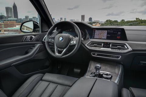 The 2019 BMW X5 gets iDrive 7, the seventh iteration of the company's infotainment system.