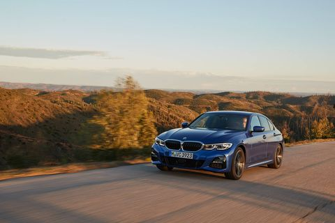The 2020 BMW 330i gets a turbocharged four-cylinder engine making 255 hp and 295 lb-ft of torque.