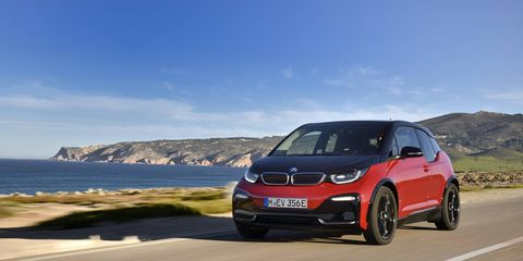 2018 BMW i3s Driving
