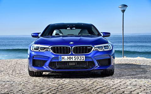 2018 BMW M5 Parked around Portugal