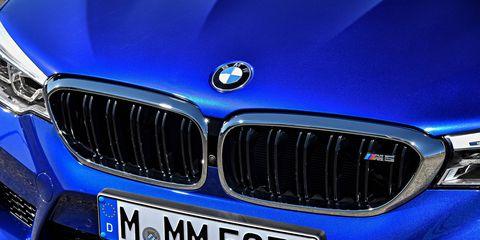 2018 BMW M5 exterior details