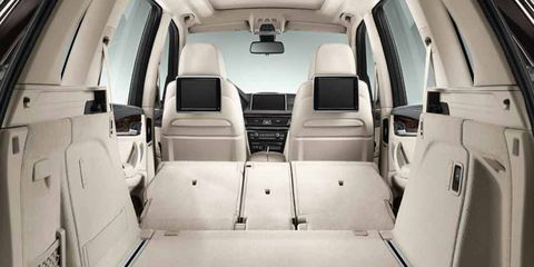 There's ample luxury and a great seating position in the 2014 BMW X5 xDrive35d.