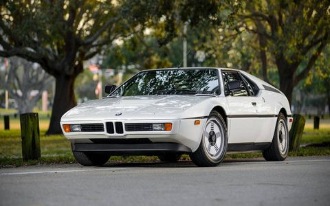 1981 BMW M1 Coupe -- $605,000.