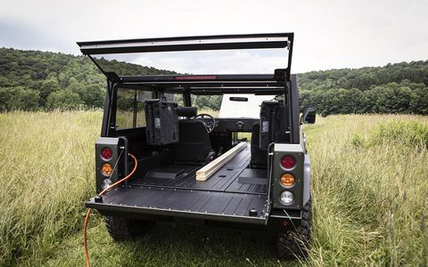 The Bollinger B1 is the brain child of Robert Bollinger and could lead the charge for all-electric off-roaders.