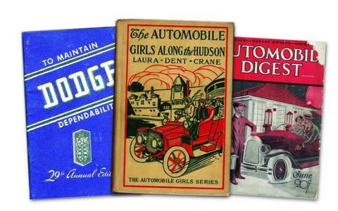 2. Vintage car books