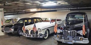 Vintage presidential limousines aren't as tough to find as you think. We rounded up a few of them to see how White House cars have changed over the years.