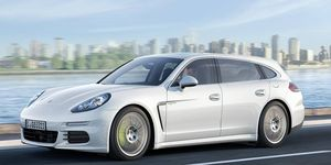 The Panamera Shooting Brake, seen in this rendering, is likely to be offered only in Europe.