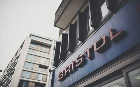 Like the company that occupies it, the Bristol Cars showroom, located on London's Kensington High Street, has seen its share of ups and downs. Take a look inside as the space -- and the automaker -- prepare for a second act.