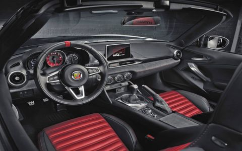 2017 Fiat Abarth 124 Spider