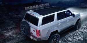The Bronco, expected in 2020, may receive a new seven-speed manual transmission courtesy of Getrag.