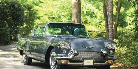 This 1958 Cadillac Eldorado Brougham found a new home for $187,000.