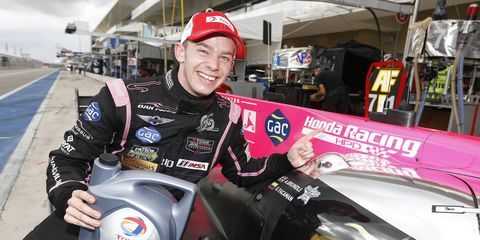 Alex Brundle turned a quick lap at Circuit of the Americas with an average speed of 103.897 mph on the 3.40-mile circuit.