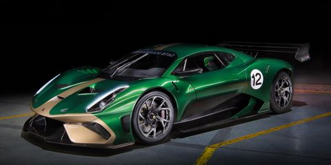 Brabham's BT62 is finally here. The 5.4-liter V8-powered supercar makes 700 hp, weighs around 2,200 pounds and is available for track use only.