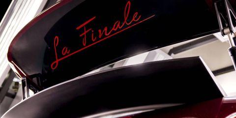 "We sincerely hope that script isn't found on the actual Bugatti Veyron Grand Sport Vitesse ""La Finale."""