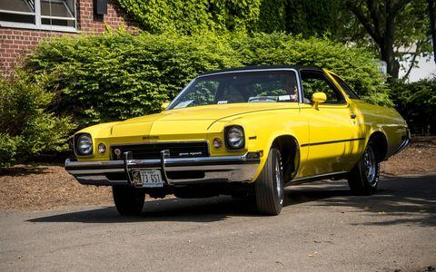 The 1973 Buick Century Gran Sport.