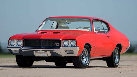 This 1970 Buick GS Stage 1 has a 360-hp 455 V8.