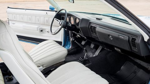 """A highly optioned Stage 1 to begin with, its original factory-installed engine has now been rebuilt to """"better than new,"""" using high-performance specifications from the legendary 1970 Stage 1 455 package."""