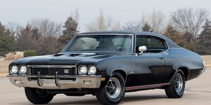 This 1972 Buick GS Stage 1 gets an automatic trans, Positraction rear end and a 455 V8.