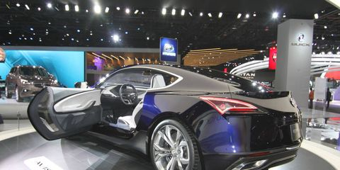 The Buick Avista stunned at the Detroit auto show.