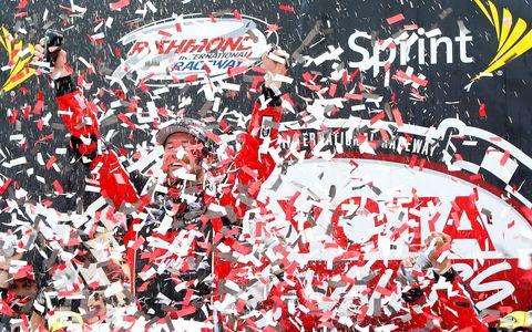 Kurt Busch won at Richmond on Sunday to clinch his spot in NASCAR's postseason.