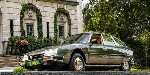 We go for a spin in the 1981 Citroen CX Pallas once owned by Prince Rainier and Princess Grace of Monaco.